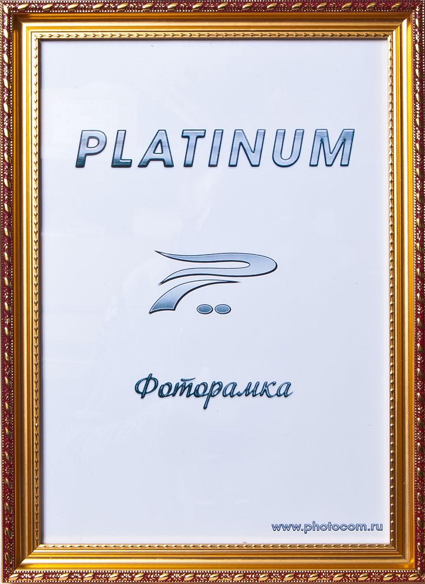 Фоторамка Platinum Венеция, цвет: бордовый, 15 x 21 смPlatinum JW98-2 ВЕНЕЦИЯ-БОРДОВЫЙ 15x21