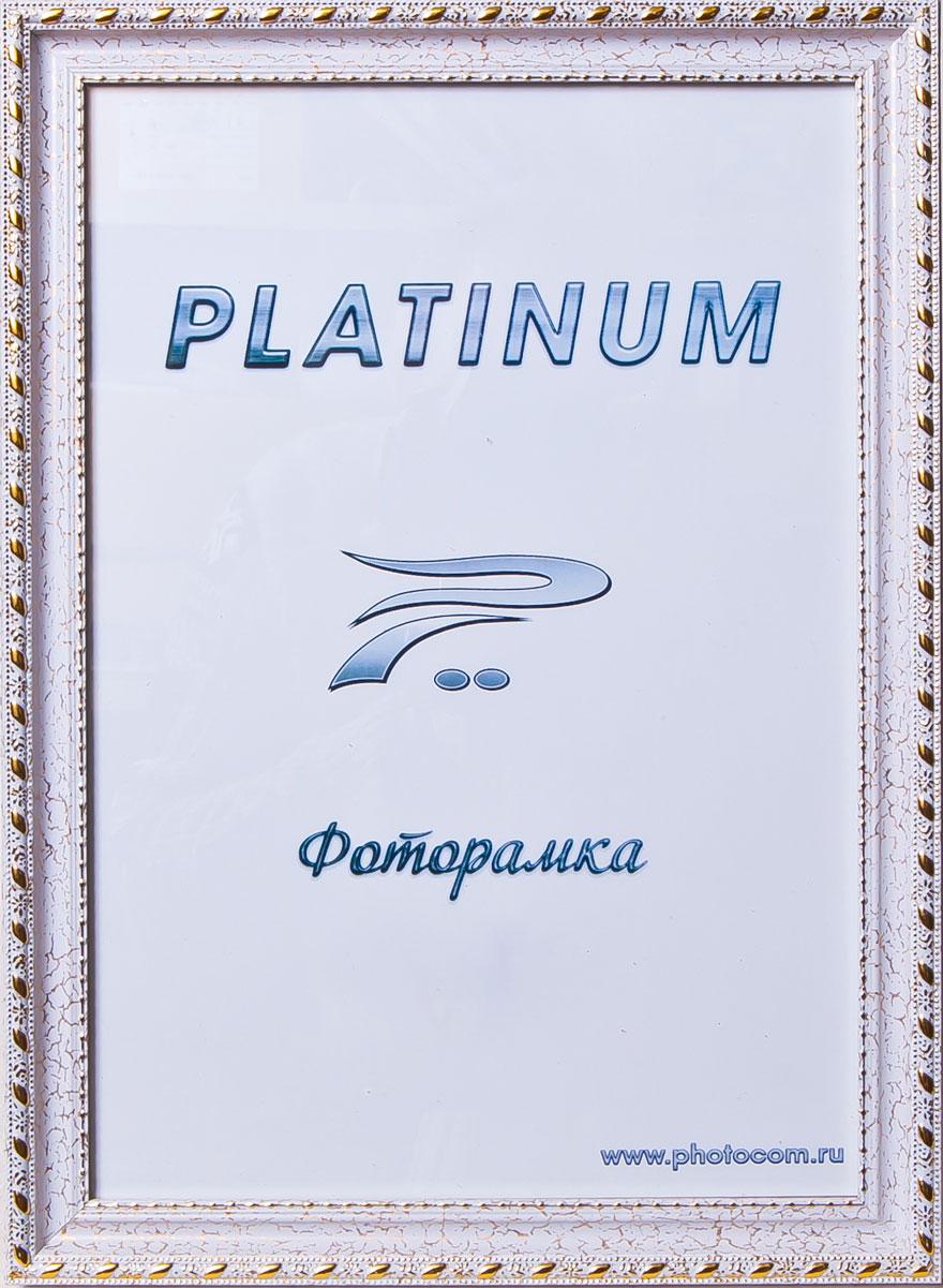 Фоторамка Platinum Венеция, цвет: белый, 10 x 15 смPlatinum JW98-3 ВЕНЕЦИЯ-БЕЛЫЙ 10x15