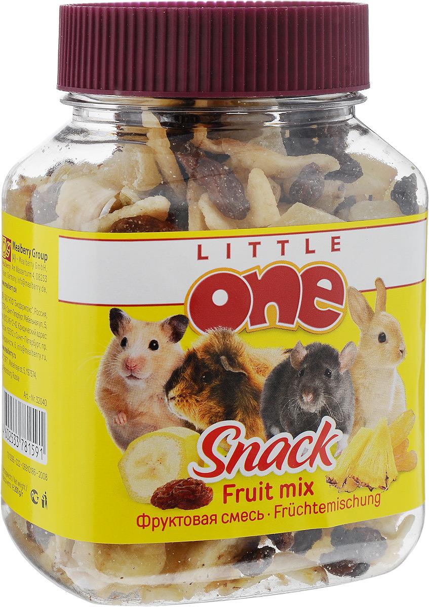 Лакомство для грызунов Little One Фруктовая смесь, 200 г19520Лакомство Little One Фруктовая смесь является очень вкусной и питательной пищей для грызунов. Бананы являются очень питательным продуктом с высоким содержанием калия, что укрепляет сердечную мышцу. Ананасы содержат большое количество каротина и калия, витамин А, С, витамины группы В, белки, жиры, углеводы, клетчатку, магний, хлор, йод. Изюм богат полезными минеральными солями, органическими кислотами и витаминами. Товар сертифицирован.