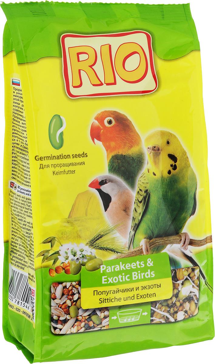 """Корм для волнистых и экзотических птиц """"RIO"""", для проращивания, 500 г 19516"""