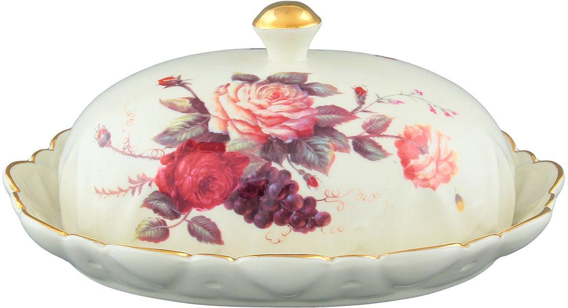 Масленка Elan Gallery Бархатный нектар, цвет: бежевый, 19 х 14,8 х 7,5 см801088Красочная посуда подарит настроение и уют, привнесет разнообразие в приготовление ваших любимых блюд и сервировку семейного стола. Размер 19х14,8х7,5 см