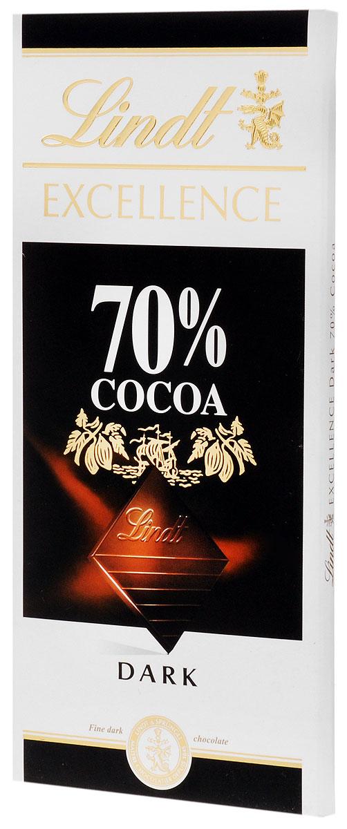 Lindt Excellence горький шоколад, 100 г 3046920028004