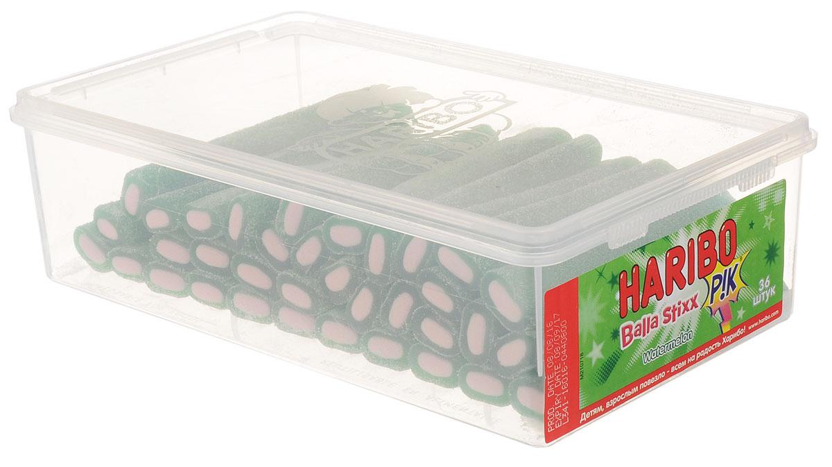 Haribo Balla Stixx Watermelon жевательные конфеты, 871,2 г35992Жевательные конфеты Haribo Balla Stixx. Watermelon - мега-трубочки - это сладкий суперхит прямиком из Испании! Почувствуйте все удивительные полутона незабываемого арбузного вкуса, рождающие настоящую страсть! Уважаемые клиенты! Обращаем ваше внимание, что полный перечень состава продукта представлен на дополнительном изображении.