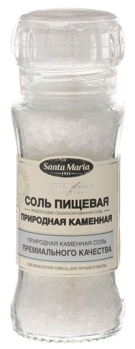 Santa Maria Соль пищевая (природная каменная), 140 г26794Природная каменная соль имеет мягкий соленый вкус. Соль прекрасно подходит ко всем блюдам – к мясу, рыбе, овощам, супам или бульонам. Упаковка может иметь несколько видов дизайна. Поставка осуществляется в зависимости от наличия на складе.