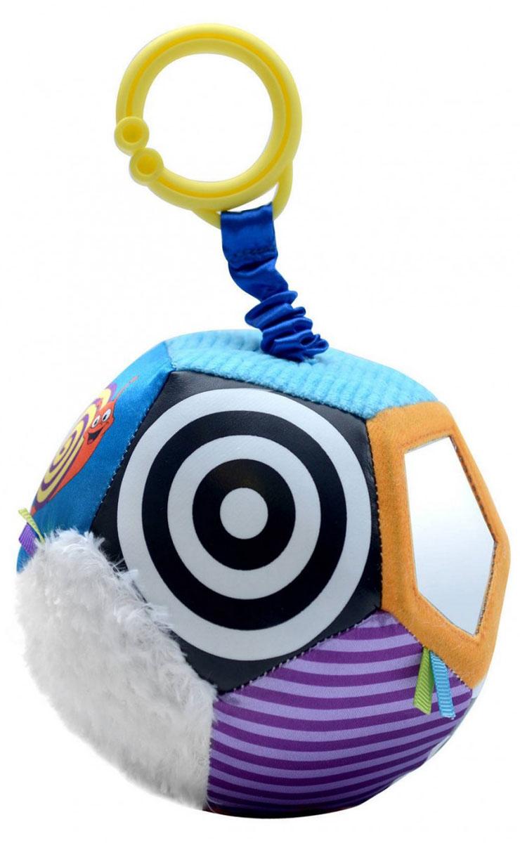 WeeWise Игрушка-подвеска Мяч Открытие20114Игрушка-подвеска WeeWise Мяч. Открытие снабжена вибрирующим механизмом, способствует развитию зрительного, слухового и тактильного восприятия. Стимулирует хватательные навыки ребенка, помогает тренировке мелкой моторики рук. Игрушка отлично крепится к козырьку-тенту прогулочной коляски или к ручке детского автокресла.