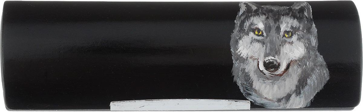 Футляр для очков Феодора Волк, цвет: черный. Ручная роспись. FM-883-VКFM-883-VКФутляр для очков Феодора Волк выполнен из искусственной кожи и оформлен изображением ручной росписи. Изделие закрывается клапаном на магнит. Внутренняя поверхность выполнена из ворсистого текстиля.