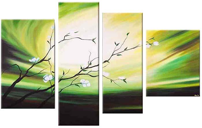 Картина Арт78 Веточка, модульная, 180 х 120 см. арт780048арт780048Ничто так не облагораживает интерьер, как хорошая картина. Особенную атмосферу создаст крупное художественное полотно, размеры которого более метра. Подобные произведения искусства, выполненные в традиционной технике (холст, масляные краски), чрезвычайно капризны: требуют сложного ухода, регулярной реставрации, особого микроклимата – поэтому они просто не могут существовать в условиях обычной городской квартиры или загородного коттеджа, и требуют больших затрат. Данное полотно идеально приспособлено для создания изысканной обстановки именно у Вас. Это полотно создано с использованием как традиционных натуральных материалов (холст, подрамник - сосна), так и материалов нового поколения – краски, фактурный гель (придающий картине внешний вид масляной живописи, и защищающий ее от внешнего воздействия). Благодаря такой композиции, картина выглядит абсолютно естественно, и отличить ее от традиционной техники может только специалист. Но при этом изображение отлично...