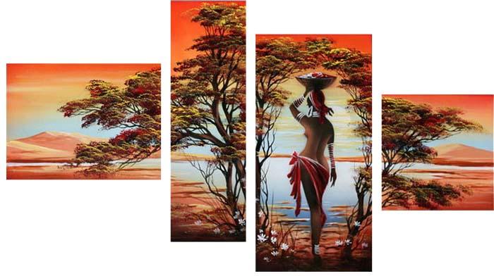 Картина Арт78 Заморские дары, модульная, 180 х 120 см. арт780059арт780059Ничто так не облагораживает интерьер, как хорошая картина. Особенную атмосферу создаст крупное художественное полотно, размеры которого более метра. Подобные произведения искусства, выполненные в традиционной технике (холст, масляные краски), чрезвычайно капризны: требуют сложного ухода, регулярной реставрации, особого микроклимата – поэтому они просто не могут существовать в условиях обычной городской квартиры или загородного коттеджа, и требуют больших затрат. Данное полотно идеально приспособлено для создания изысканной обстановки именно у Вас. Это полотно создано с использованием как традиционных натуральных материалов (холст, подрамник - сосна), так и материалов нового поколения – краски, фактурный гель (придающий картине внешний вид масляной живописи, и защищающий ее от внешнего воздействия). Благодаря такой композиции, картина выглядит абсолютно естественно, и отличить ее от традиционной техники может только специалист. Но при этом изображение отлично...