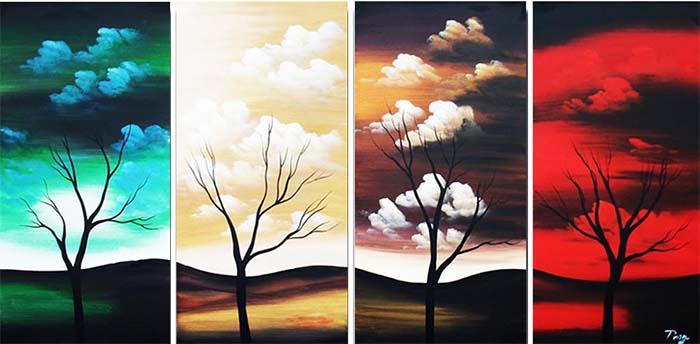 Картина Арт78 Рассвет меняет закат, модульная, 200 х 100 см. арт780095арт780095Ничто так не облагораживает интерьер, как хорошая картина. Особенную атмосферу создаст крупное художественное полотно, размеры которого более метра. Подобные произведения искусства, выполненные в традиционной технике (холст, масляные краски), чрезвычайно капризны: требуют сложного ухода, регулярной реставрации, особого микроклимата – поэтому они просто не могут существовать в условиях обычной городской квартиры или загородного коттеджа, и требуют больших затрат. Данное полотно идеально приспособлено для создания изысканной обстановки именно у Вас. Это полотно создано с использованием как традиционных натуральных материалов (холст, подрамник - сосна), так и материалов нового поколения – краски, фактурный гель (придающий картине внешний вид масляной живописи, и защищающий ее от внешнего воздействия). Благодаря такой композиции, картина выглядит абсолютно естественно, и отличить ее от традиционной техники может только специалист. Но при этом изображение отлично...