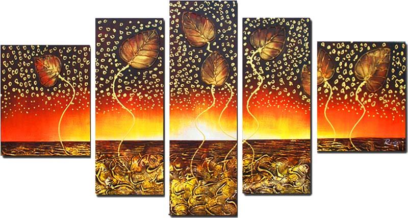 Картина Арт78 Другой мир, модульная, 200 х 120 см. арт780102арт780102Ничто так не облагораживает интерьер, как хорошая картина. Особенную атмосферу создаст крупное художественное полотно, размеры которого более метра. Подобные произведения искусства, выполненные в традиционной технике (холст, масляные краски), чрезвычайно капризны: требуют сложного ухода, регулярной реставрации, особого микроклимата – поэтому они просто не могут существовать в условиях обычной городской квартиры или загородного коттеджа, и требуют больших затрат. Данное полотно идеально приспособлено для создания изысканной обстановки именно у Вас. Это полотно создано с использованием как традиционных натуральных материалов (холст, подрамник - сосна), так и материалов нового поколения – краски, фактурный гель (придающий картине внешний вид масляной живописи, и защищающий ее от внешнего воздействия). Благодаря такой композиции, картина выглядит абсолютно естественно, и отличить ее от традиционной техники может только специалист. Но при этом изображение отлично...