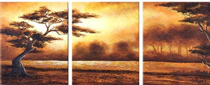 Картина Арт78 Лес, модульная, 90 х 50 см. арт780080-3арт780080-3Ничто так не облагораживает интерьер, как хорошая картина. Особенную атмосферу создаст крупное художественное полотно, размеры которого более метра. Подобные произведения искусства, выполненные в традиционной технике (холст, масляные краски), чрезвычайно капризны: требуют сложного ухода, регулярной реставрации, особого микроклимата – поэтому они просто не могут существовать в условиях обычной городской квартиры или загородного коттеджа, и требуют больших затрат. Данное полотно идеально приспособлено для создания изысканной обстановки именно у Вас. Это полотно создано с использованием как традиционных натуральных материалов (холст, подрамник - сосна), так и материалов нового поколения – краски, фактурный гель (придающий картине внешний вид масляной живописи, и защищающий ее от внешнего воздействия). Благодаря такой композиции, картина выглядит абсолютно естественно, и отличить ее от традиционной техники может только специалист. Но при этом изображение отлично...