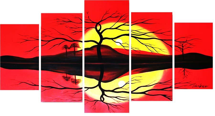 Картина Арт78 Закат, модульная, 140 х 80 см. арт780091-2арт780091-2Ничто так не облагораживает интерьер, как хорошая картина. Особенную атмосферу создаст крупное художественное полотно, размеры которого более метра. Подобные произведения искусства, выполненные в традиционной технике (холст, масляные краски), чрезвычайно капризны: требуют сложного ухода, регулярной реставрации, особого микроклимата – поэтому они просто не могут существовать в условиях обычной городской квартиры или загородного коттеджа, и требуют больших затрат. Данное полотно идеально приспособлено для создания изысканной обстановки именно у Вас. Это полотно создано с использованием как традиционных натуральных материалов (холст, подрамник - сосна), так и материалов нового поколения – краски, фактурный гель (придающий картине внешний вид масляной живописи, и защищающий ее от внешнего воздействия). Благодаря такой композиции, картина выглядит абсолютно естественно, и отличить ее от традиционной техники может только специалист. Но при этом изображение отлично...