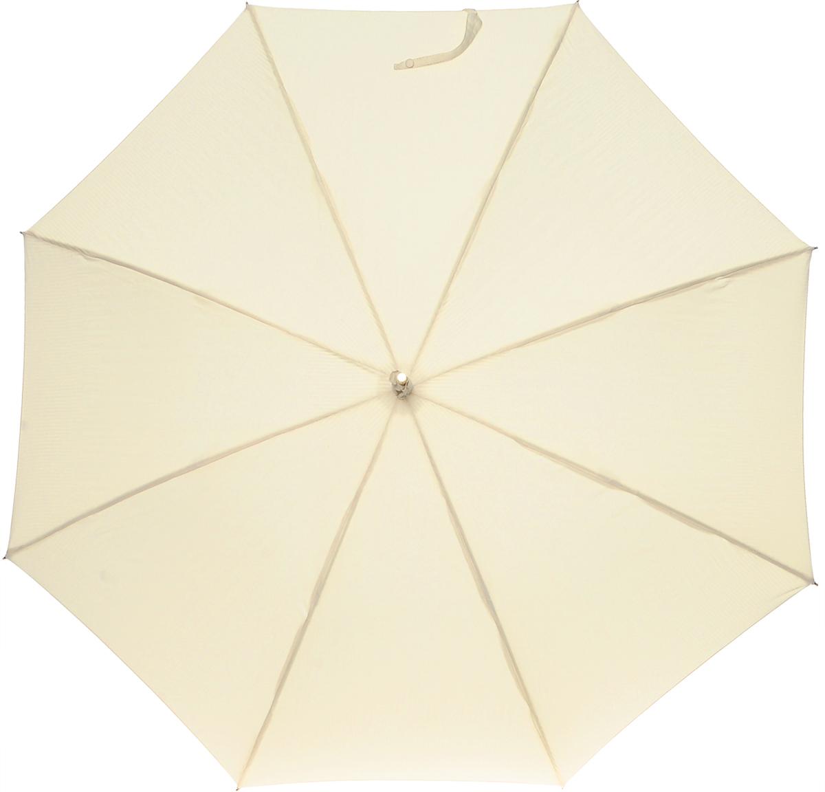 Зонт-трость женский Vogue, цвет: бежевый. 103 V103 VСтильный зонт-трость Vouge даже в ненастную погоду позволит вам оставаться стильной и элегантной. Каркас зонта выполнен из восьми металлических спиц, удобная закругленная рукоятка из искусственной кожи с лаковым покрытием. К ручке крепится съемный шнурок с декоративной кисточкой. Купол зонта выполнен из полиэстера. Зонт механического сложения: купол открывается и закрывается вручную до характерного щелчка