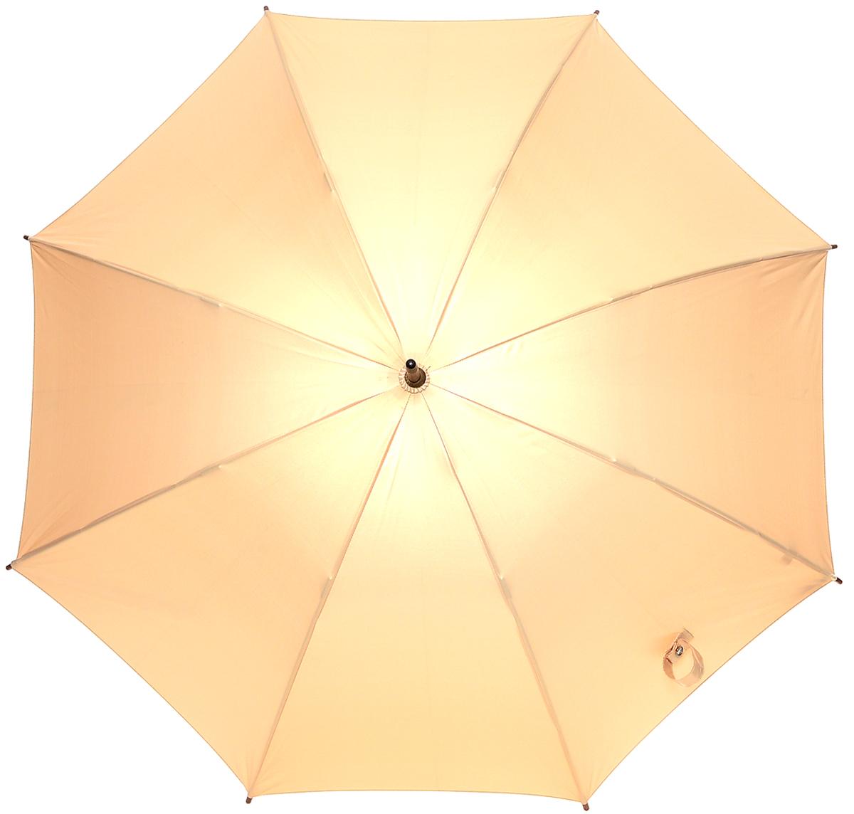 Зонт-трость женский Fulton Kensington, механический, цвет: золотой. L776-013L776-013 GoldМодный механический зонт-трость Fulton Kensington даже в ненастную погоду позволит вам оставаться стильной и элегантной. Каркас зонта состоит из 8 спиц и стержня из фибергласса. Купол зонта выполнен из прочного полиэстера. Изделие оснащено удобной рукояткой из дерева. Зонт механического сложения: купол открывается и закрывается вручную до характерного щелчка. Модель закрывается при помощи двух хлястиков на кнопках. Такой зонт не только надежно защитит вас от дождя, но и станет стильным аксессуаром, который идеально подчеркнет ваш неповторимый образ.
