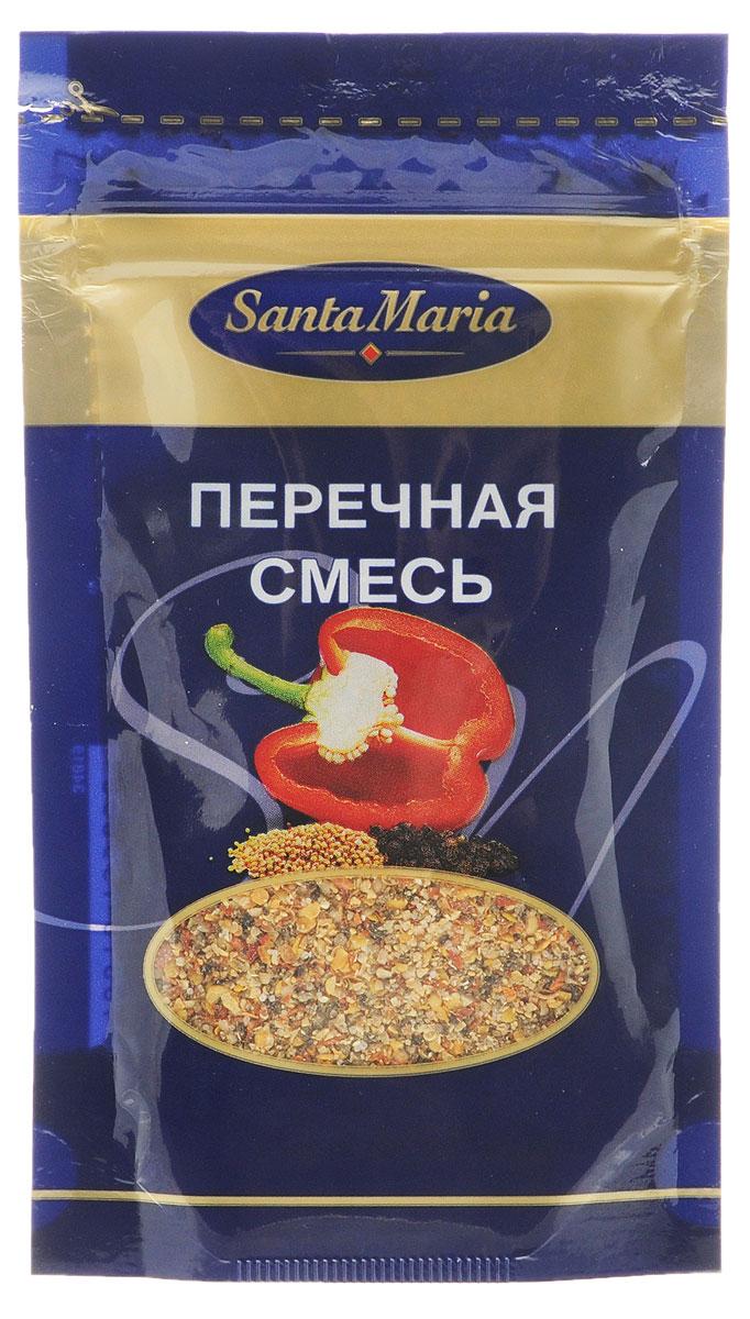 Santa Maria Перечная смесь, 20 г13585Перечная смесь – очень ароматная пряная смесь на основе черного перца и паприки. Подходит для приготовления мясных, рыбных и овощных блюд, супов и соусов, жареного мяса, маринадов, блюд на гриле. Уважаемые клиенты! Обращаем ваше внимание, что полный перечень состава продукта представлен на дополнительном изображении.