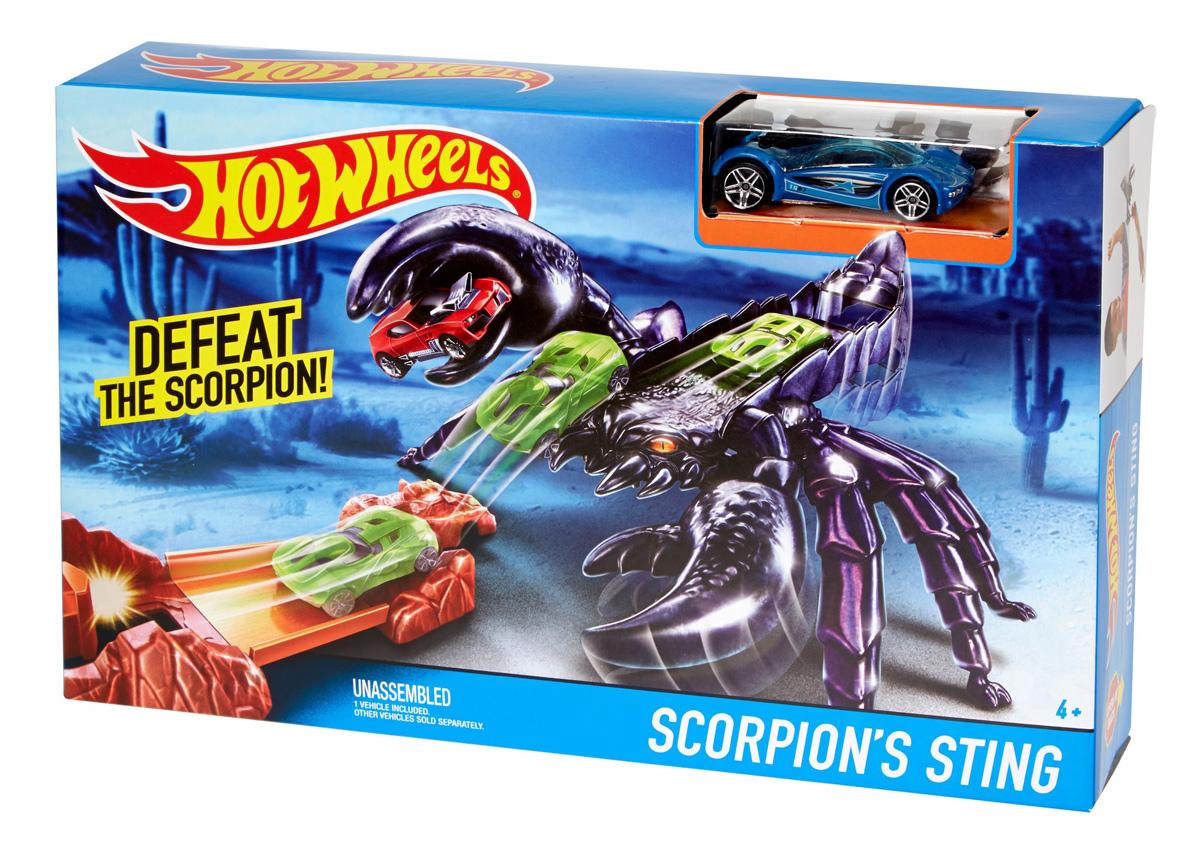 Hot Wheels Игрушечный трек Scorpion's Sting