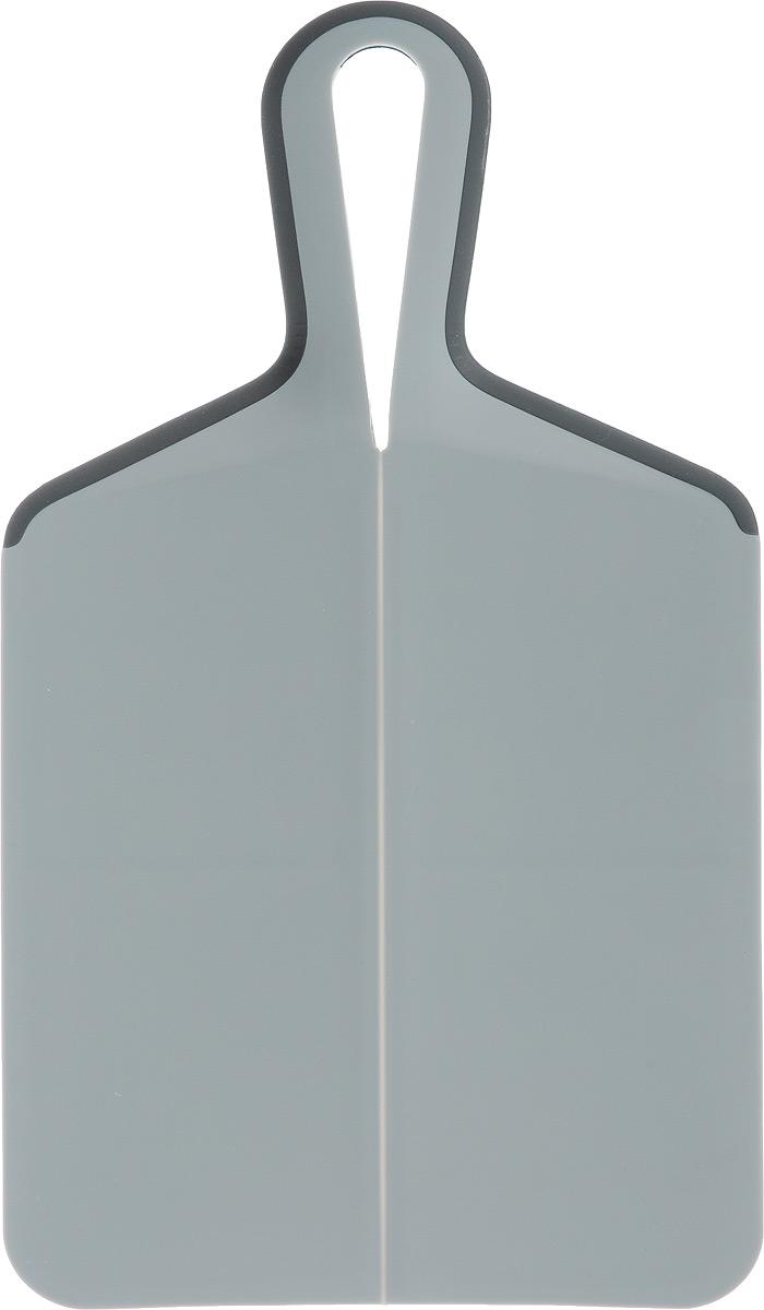 Доска разделочная Zeller, 39 х 21,5 см26137Разделочная доска Zeller, изготовленная из пищевого пластика, займет достойное место среди аксессуаров на вашей кухне. Она прекрасно подойдет для нарезки любых продуктов. Доска устойчива к деформации и высоким температурам, оснащена ручкой для более удобного использования. Функциональная и простая в использовании, разделочная доска Zeller прекрасно впишется в интерьер любой кухни и прослужит вам долгие годы. Не рекомендуется мыть в посудомоечной машине. Размер доски: 39 х 21,5 см. Толщина доски: 0,5 см.