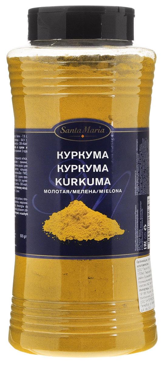 Santa Maria Куркума молотая, 500 г15165Santa Maria Куркума молотая идеально подходит для приготовления блюд из птицы, рыбы, риса, пасты и свинины, морепродуктов, соусов, а также для придания блюдам золотистого оттенка.