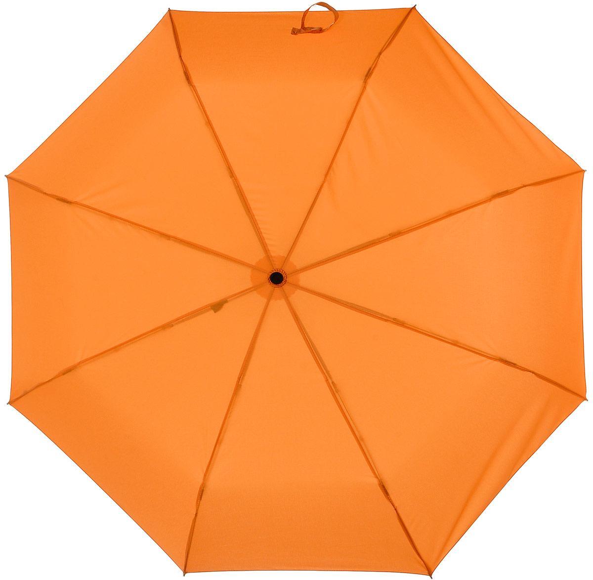Зонт женский Labbra, цвет: оранжевый. A3-05-LT200A3-05-LT200Женский зонт-автомат торговой марки LABBRA с проявляющимся рисунком. Изображение на зонте начинает проявляться, как только ткань купола намокает, при высыхании рисунок тускнеет и исчезает. Купол: 100% полиэстер, эпонж. Материал каркаса: сталь + алюминий + фибергласс. Материал ручки: пластик. Длина изделия - 29 см. Диаметр купола - 105 см.