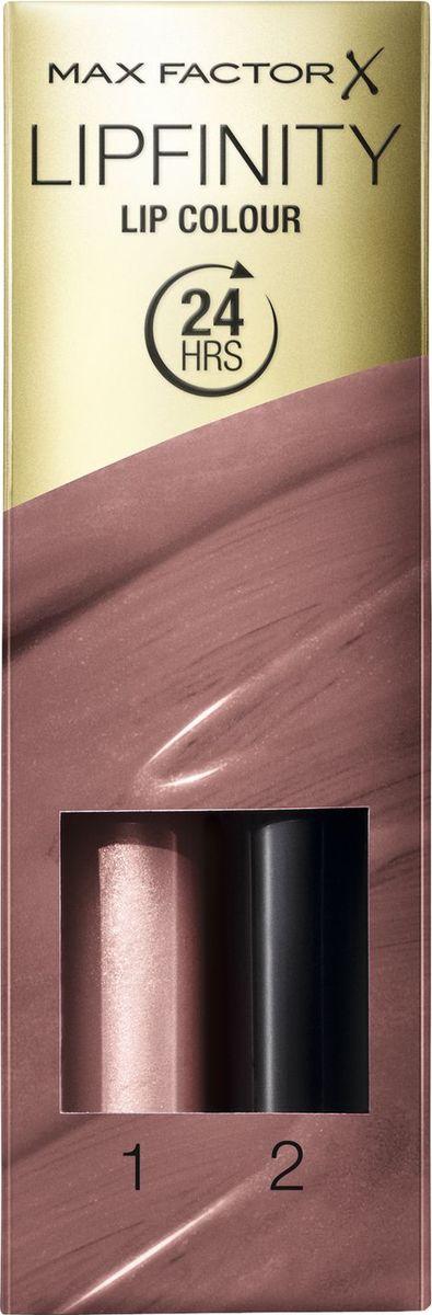 Max Factor Стойкая Губная Помада И Увлажняющий Блеск Lipfinity Essential 350 тон 2,3 мл81435703Max Factor стойкая губная помада и увлажняющий блеск Lipfinity — оригинальная, обновленная стойкая губная помада с двухступенчатым нанесением для привлекательных губ на весь день. Оставляет впечатление надолго. Lipfinity: чувственные, модные оттенки, которые держатся весь день. Будь в центре внимания благодаря насыщенному цвету, который остается на губах до 24 часов. Формула Блеск для губ и бальзам создают великолепный цвет и придают блеск, которые держатся до 24 часов. Новый аппликатор для яркого, насыщенного цвета, который сохраняется на губах весь день.