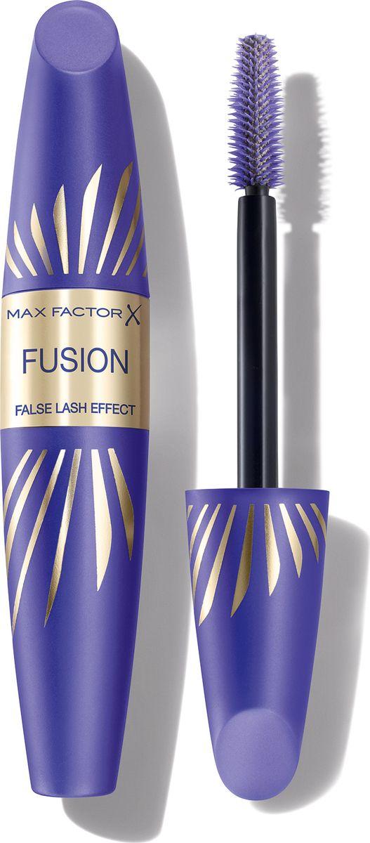 Max Factor Тушь С Эффектом Накладных Ресниц False Lash Effect Fusion Deep blue 13,1 мл81524156Тушь Max Factor False Lash Effect Fusion помогает достичь впечатляющего результата. С помощью этой туши можно удвоить не только объем, но и длину ресниц, сделав глаза более привлекательными. Формула Новое сочетание от Max Factor: культовая щеточка, придающая суперобъем, и инновационная удлиняющая формула с нейлоновыми волокнами. Не скатывается и не смазывается, поэтому ты можешь быть уверена, что выглядишь великолепно. Тушь подходит тем, кто носит контактные линзы, легко смывается. Можно использовать для естественного повседневного макияжа.