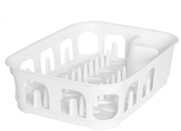 Сушилка для посуды Curver Essentials, цвет: белый00743-059-00Сушилка для посуды Curver Essentials, цвет: белый