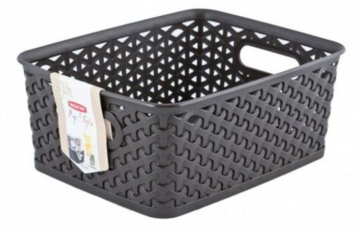Коробка для хранения Curver My Style, цвет: темно-коричневый, 13 л03611-210-00Коробка для хранения Curver My Style, цвет: темно-коричневый, 13 л