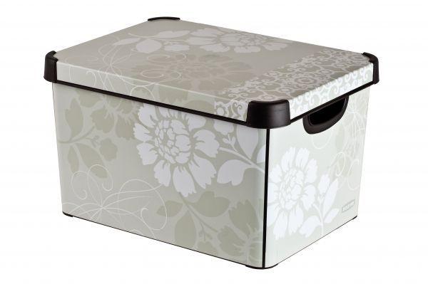 Коробка для хранения Curver Stockholm. Romance, 22 л04711-D64Коробка Curver Stockholm. Romance, выполненная из высококачественного пластика, предназначена для хранения различных вещей. Изделие оформлено цветочным принтом. Коробка оснащена крышкой и удобными ручками. Изящный дизайн коробки впишется в любой интерьер. Декоративная коробка поможет хранить все в одном месте, а также защитить вещи от пыли, грязи и влаги.