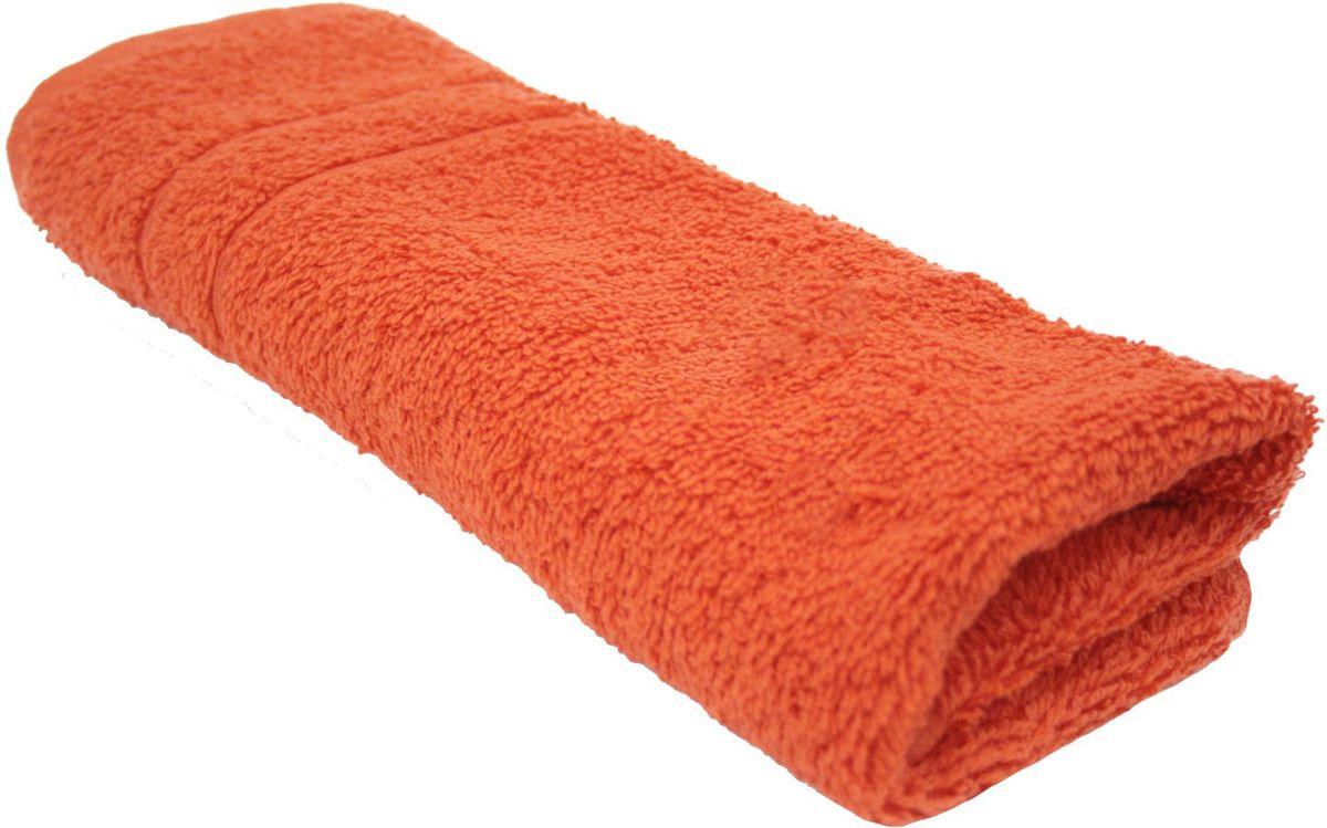 Полотенце Proffi Home Модерн, цвет: оранжевый, 30x50 смPH3265Состав: 100% хлопок.