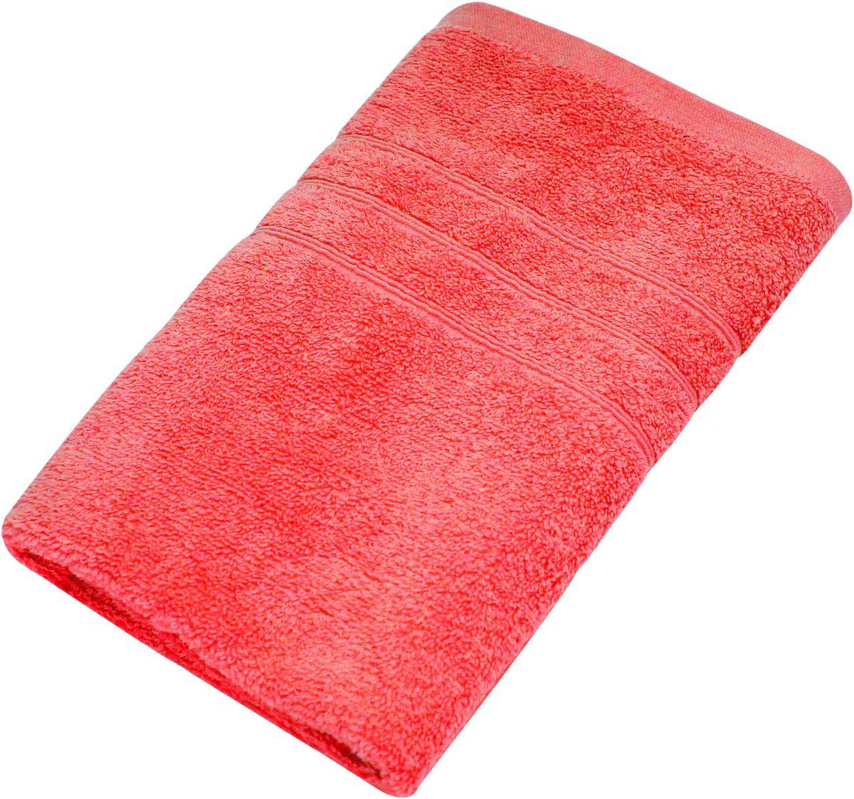 Полотенце Proffi Home Модерн, цвет: красный, 50x100 смPH3270Состав: 100% хлопок.