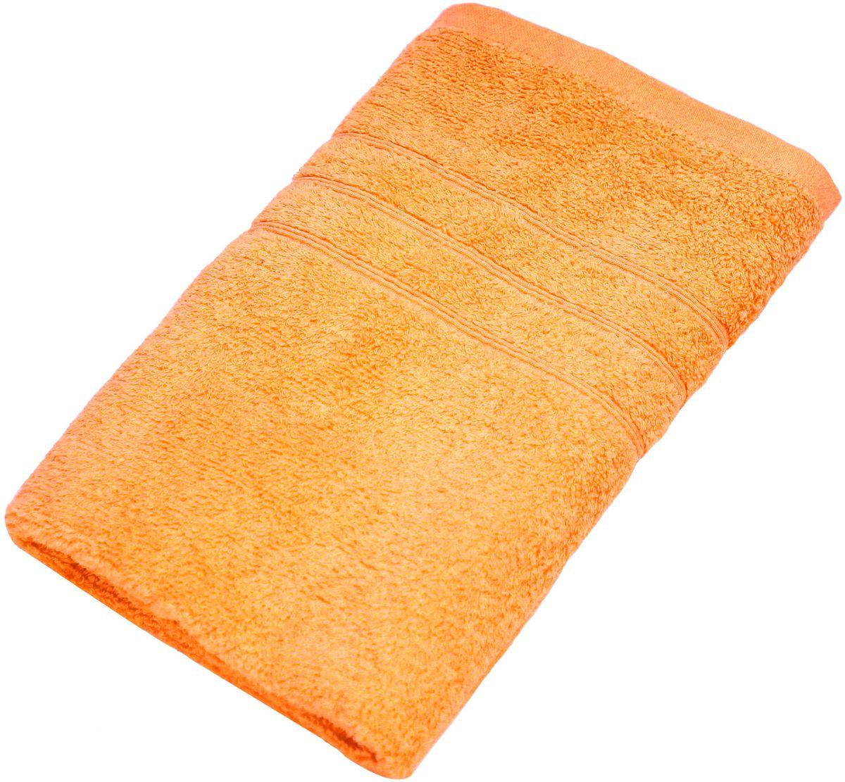 Полотенце Proffi Home Модерн, цвет: оранжевый, 50x100 смPH3271Состав: 100% хлопок.