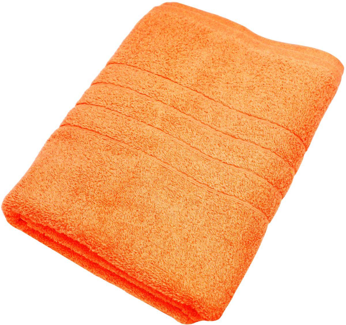 Полотенце Proffi Home Модерн, цвет: оранжевый, 70x140 смPH3277Состав: 100% хлопок.