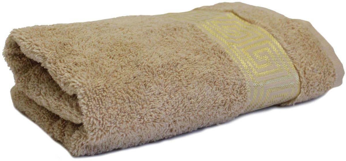 Полотенце Proffi Home Классик, цвет: бежевый, 30x50 смPH3281Состав: 100% хлопок.