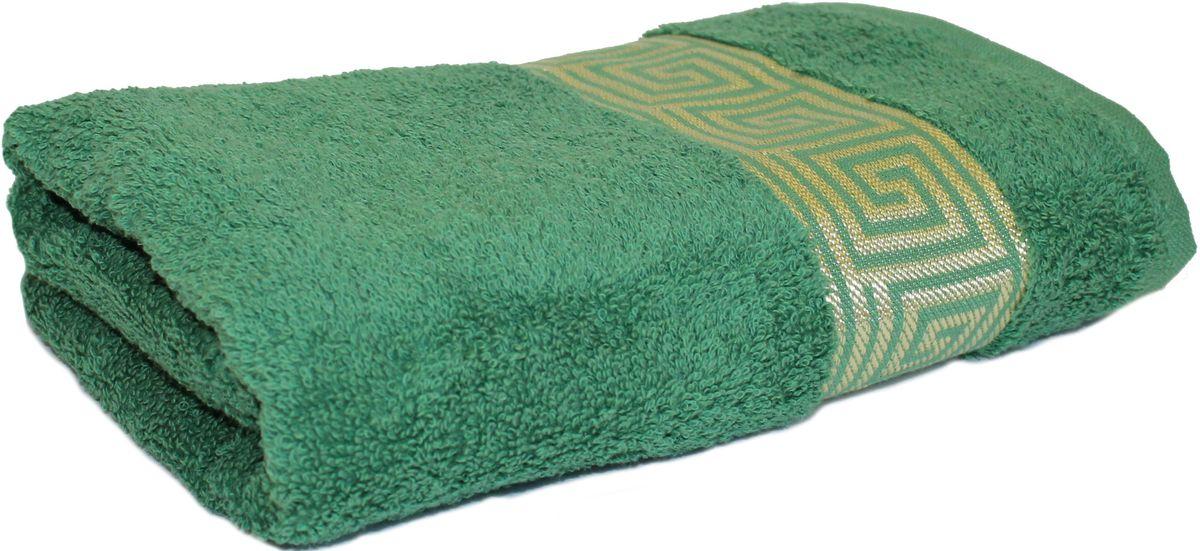 Полотенце Proffi Home Классик, цвет: зеленый, 50x100 смPH3283Состав: 100% хлопок.