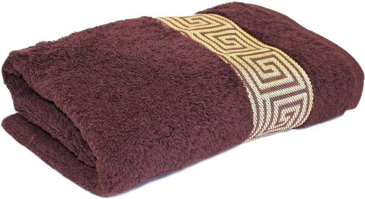 Полотенце Proffi Home Классик, цвет: шоколадный, 50x100 смPH3284Состав: 100% хлопок.