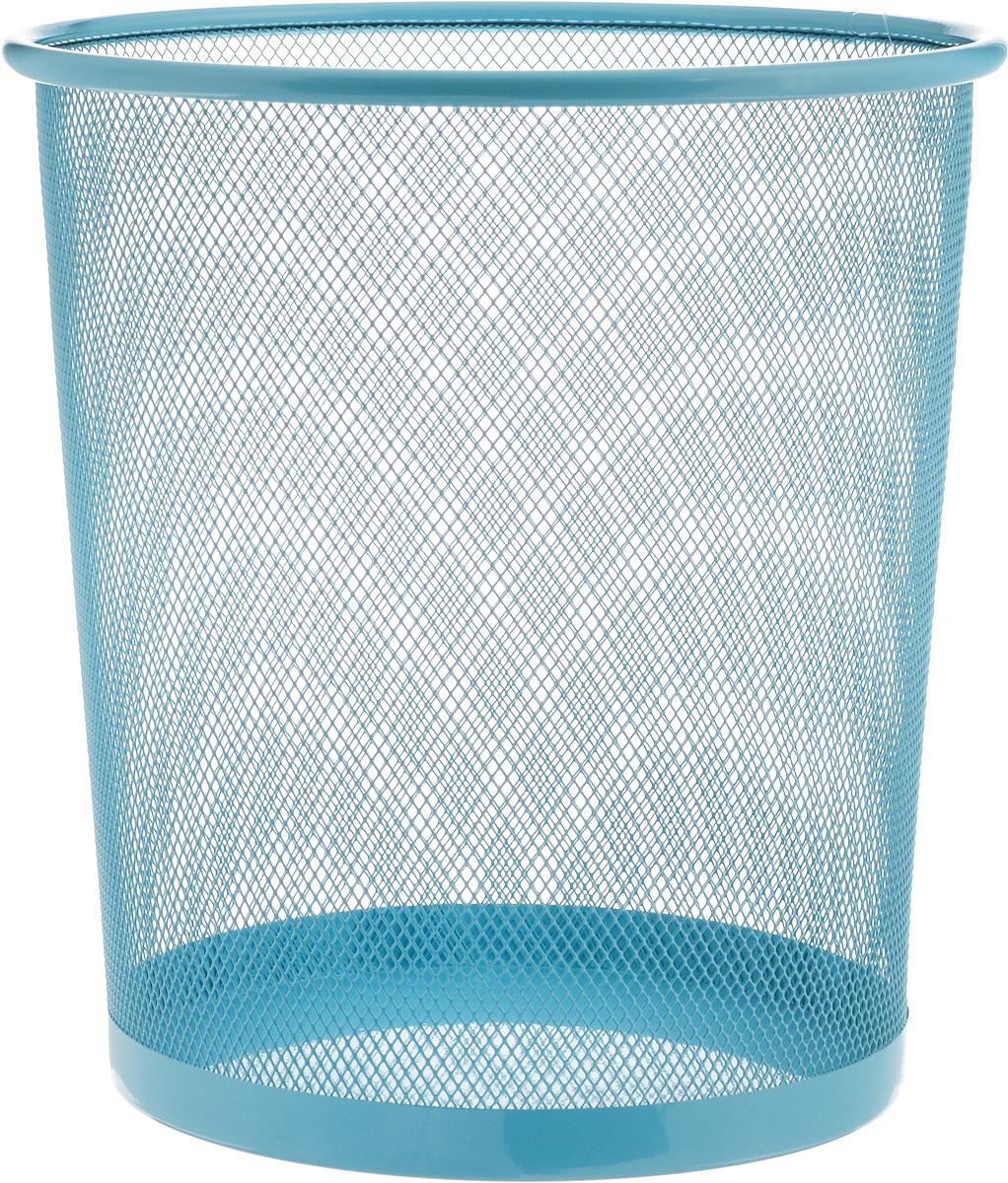 Корзина для мусора Zeller, цвет: голубой, 26 х 26 х 27,8 см17734_голубойОригинальная корзина для мусора Zeller изготовлена из высококачественного металла. Такое изделие идеально подходит для использования как дома, так и в офисе. Корзина имеет сплошное дно, а стенки изделия оформлены перфорацией в виде сетки. Стильный дизайн и яркая расцветка прекрасно подойдет для любого интерьера. Диаметр (по верхнему краю): 26 см. Высота: 27,8 см.