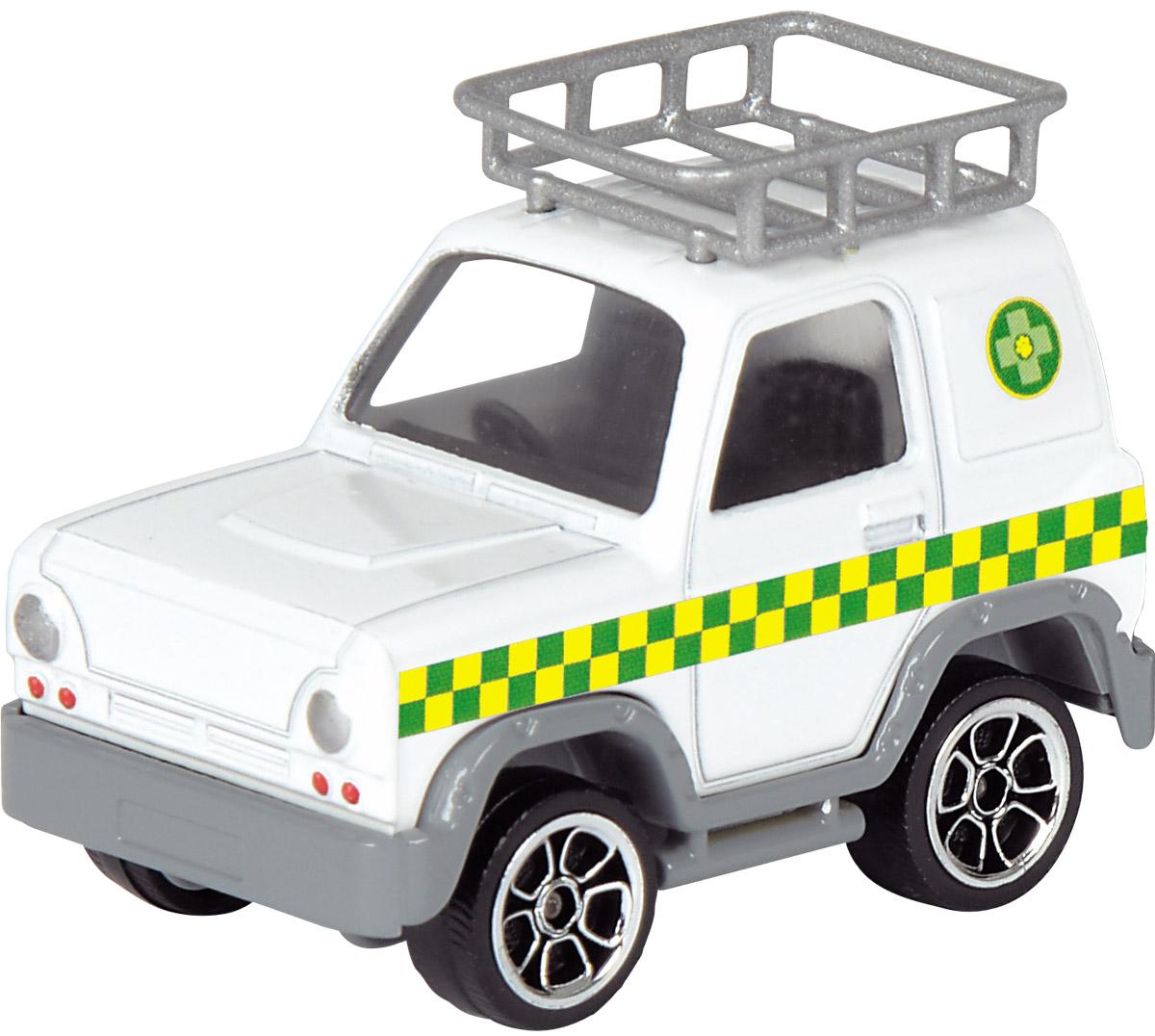 Dickie Toys Пожарная машинка Vet 4 х 43093000_белый, 203093000038Пожарная машинка Dickie Toys Vet 4 х 4 выполнена в реалистичном стиле. Колеса машины свободно крутятся. Верх дополнен корзиной под разные предметы, а сзади у машинки - запасное колесо. Стекла кабины из прозрачного пластика. Машинка изготовлена из прочных, качественных и безопасных материалов. Ваш ребенок сможет часами играть с пожарной машиной, придумывая разные истории. Порадуйте его таким замечательным подарком!