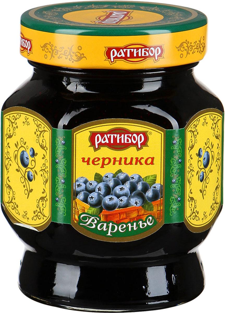 """Ратибор варенье """"Черника"""", 400 г 1495"""
