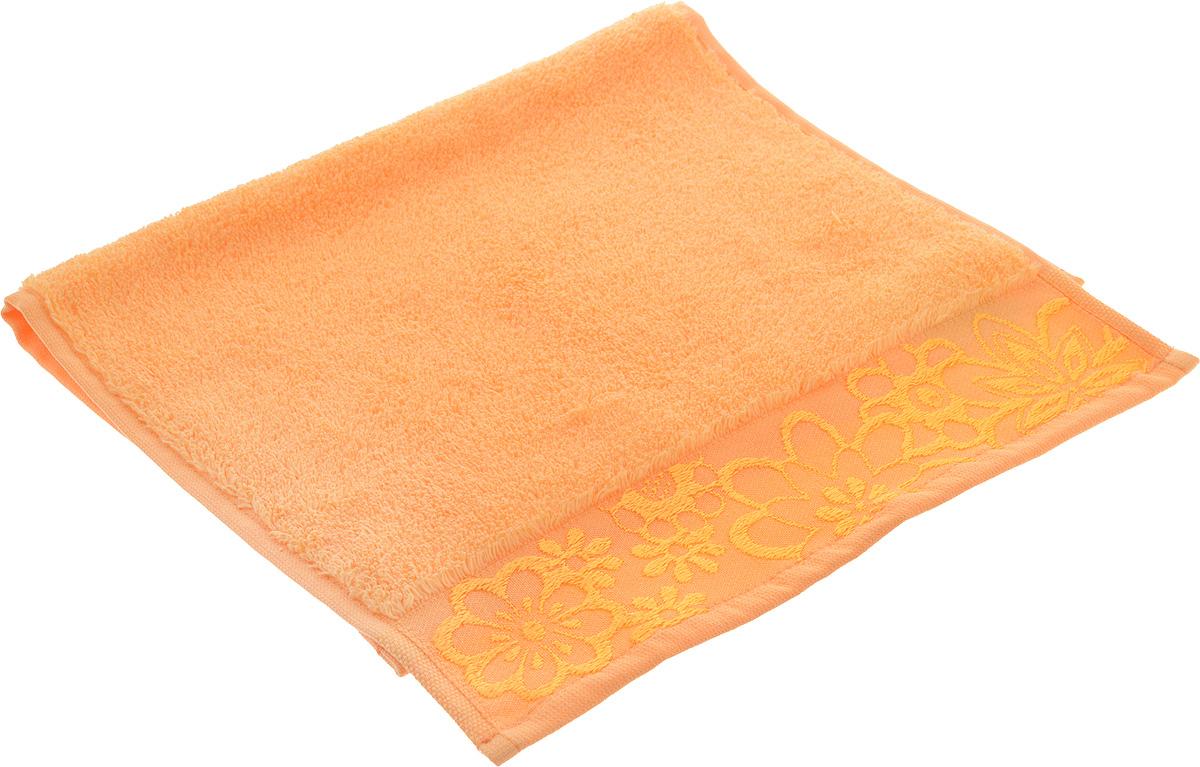 Полотенце Hobby Home Collection Dora, цвет: светло-оранжевый, 30 х 50 см1607000130Махровое полотенце Hobby Home Collection Dora выполнено из 100% хлопка. Изделие отлично впитывает влагу, быстро сохнет, сохраняет яркость цвета и не теряет форму даже после многократных стирок. Такое полотенце очень практично и неприхотливо в уходе. Оно украсит интерьер в ванной комнате, а также подарит ощущение заботливой нежности и удивительного комфорта.