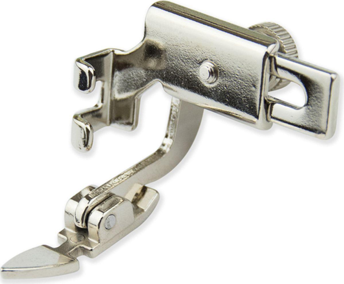 Лапка для швейной машины Aurora, для молнии, узкая, с адаптеромAU-162Для установки лапки снимите универсальный держатель лапок (адаптер). Закрепите лапку для молнии на штоке винтом.
