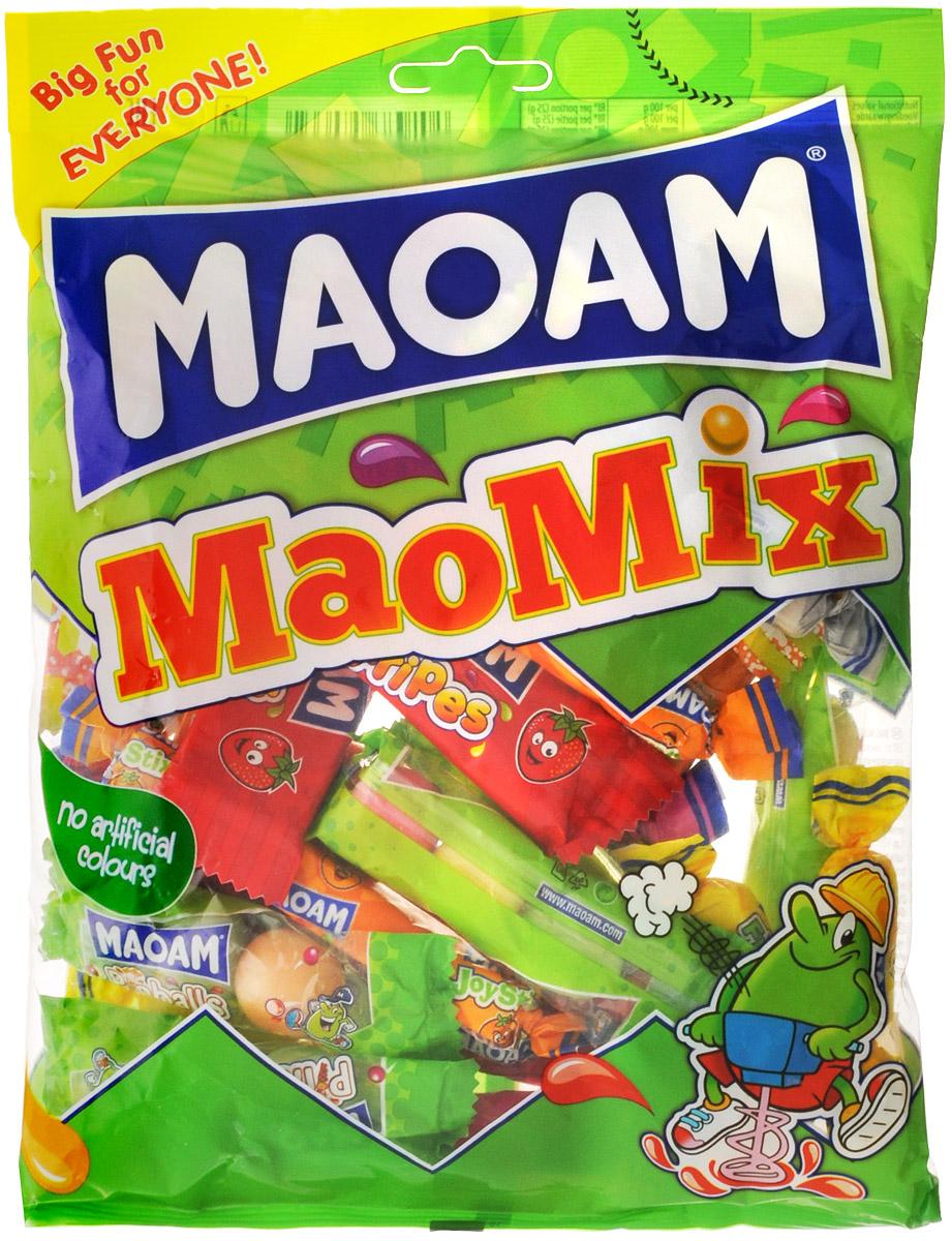 Maoam Mao Mix жевательные конфеты, 250 г58032Правильный выбор для любителей жевательных конфет - Maoam Mao Mix. Жевательные конфеты представлены в самых разнообразных формах - кубики, драже и пластинки, каждый найдет что-то по душе. Уважаемые клиенты! Обращаем ваше внимание, что полный перечень состава продукта представлен на дополнительном изображении.