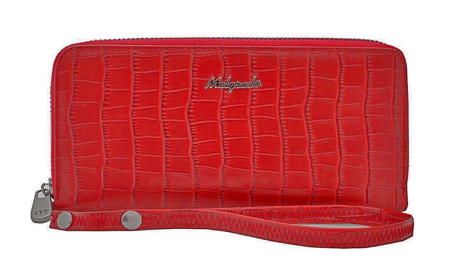 Кошелек женский Malgrado, цвет: красный. 73005-4370273005-43702# Red