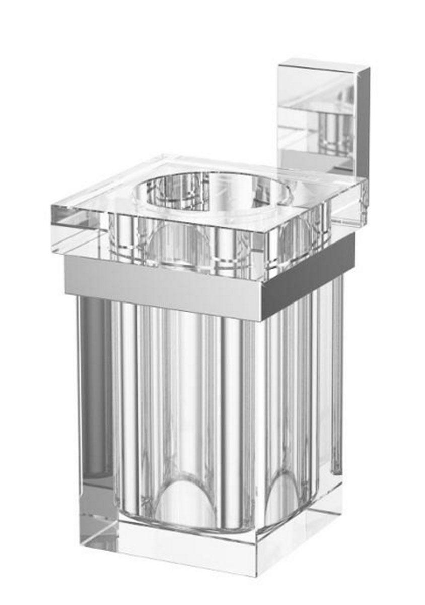 Держатель со стаканом для ванной комнаты Lineag Tiffany, цвет: хром. TIF 004TIF 004В течение 20 лет компания Lineag разрабатывает и производит эксклюзивные аксессуары для ванной комнаты, используя современные технологии и высококачественные материалы. Каждый продукт Lineag произведен исключительно в Италии. Изысканный дизайн аксессуаров Lineag создает уникальную атмосферу уюта и роскоши в вашей ванной.