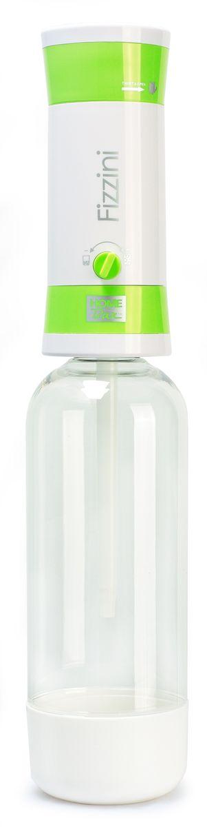 Сифон для газирования воды Home Bar Fizzini NG, с баллонами, цвет: зеленыйfiZZini NG greenЕсли вы хотите сделать подарок своим детям, друзьям и знакомым или иметь переносной аппарат, который можно использовать для дачи, путешествий и поездок, то сифон для газирования воды HOME BAR FIZZINI NG отлично подходит для этих целей. Предназначен для газирования чистой охлажденной воды. Рекомендуемая температура воды 50°С. Для приготовления напитка сироп рекомендуется наливать в отдельную емкость. Не требует электроэнергии. Ручка регулирования насыщенности газа. Двойная защита (предохранительный клапан и кнопка сброса давления). Применяются универсальные 8-ми граммовые баллоны. Состав бутылки не содержит бисфенол A. Совместимость с 1 л и 1,5 л бутылкой. Комплект: бутылка 1 л, баллоны 8 г / 10 шт. *Внимание! Для работы сифона используются стандартные 8-ми граммовые баллоны с пищевой углекислотой: HOME BAR, Kayser, ISI, Mossa и др. Баллоны одноразовые.