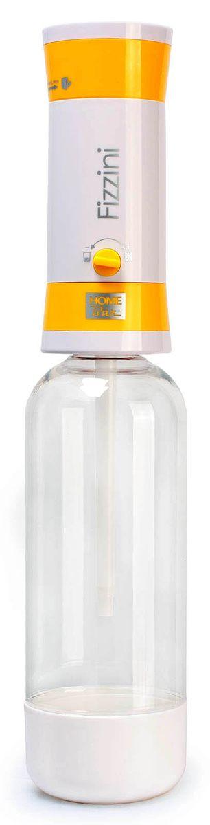 Сифон Home Bar Fizzini NG, с баллонами, цвет: желтыйfiZZini NG yellowЕсли вы хотите сделать подарок своим детям, друзьям и знакомым или иметь переносной аппарат, который можно использовать для дачи, путешествий и поездок, то сифон для газирования воды HOME BAR FIZZINI NG отлично подходит для этих целей. Предназначен для газирования чистой охлажденной воды. Рекомендуемая температура воды 50°С. Для приготовления напитка сироп рекомендуется наливать в отдельную емкость. Не требует электроэнергии. Ручка регулирования насыщенности газа. Двойная защита (предохранительный клапан и кнопка сброса давления). Применяются универсальные 8-ми граммовые баллоны. Состав бутылки не содержит бисфенол A. Совместимость с 1 л и 1,5 л бутылкой. Комплект: бутылка 1 л, баллоны 8 г / 10 шт. *Внимание! Для работы сифона используются стандартные 8-ми граммовые баллоны с пищевой углекислотой: HOME BAR, Kayser, ISI, Mossa и др. Баллоны одноразовые.
