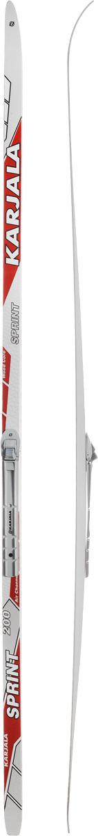 Лыжи беговые Karjala Sprint Step, с креплением NNN, цвет: белый, серый, красный, рост 200 см43439_р.200Беговые лыжи Karjala Sprint Step предназначены для активного катания и прогулок по лыжне классическим стилем. Технология CAP позволяет увеличить прочность лыж, их долговечность и надежность. Обеспечивает большую жесткость на скручивание и облегченный вес. Сердечник изготовлен из дерева. Скользящая поверхность - экструдированый полиэтилен низкого давления ПЭНД, обладающий высокой степенью защиты от царапин и вмятин. Крепления изготовлены из морозоустойчивого пластика и стали. Имеют автоматическое пристегивание. Флексор жесткости заменяем. Две направляющие. Геометрия: 46-46-46. Рост: 200 см.