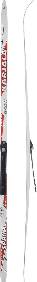 Лыжи беговые Karjala Sprint Step, с креплением NNN, цвет: белый, серый, красный, рост 186 см43439_р.186Беговые лыжи Karjala Sprint Step предназначены для активного катания и прогулок по лыжне классическим стилем. Технология CAP позволяет увеличить прочность лыж, их долговечность и надежность. Обеспечивает большую жесткость на скручивание и облегченный вес. Сердечник изготовлен из дерева. Скользящая поверхность - экструдированый полиэтилен низкого давления ПЭНД, обладающий высокой степенью защиты от царапин и вмятин. Крепления изготовлены из морозоустойчивого пластика и стали. Имеют автоматическое пристегивание. Флексор жесткости заменяем. Две направляющие. Геометрия: 46-46-46. Рост: 186 см.