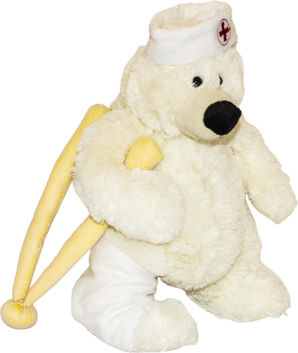 Gulliver Мягкая игрушка Мишка Гаврил цвет белый 30 см40-HD-52646-1-30