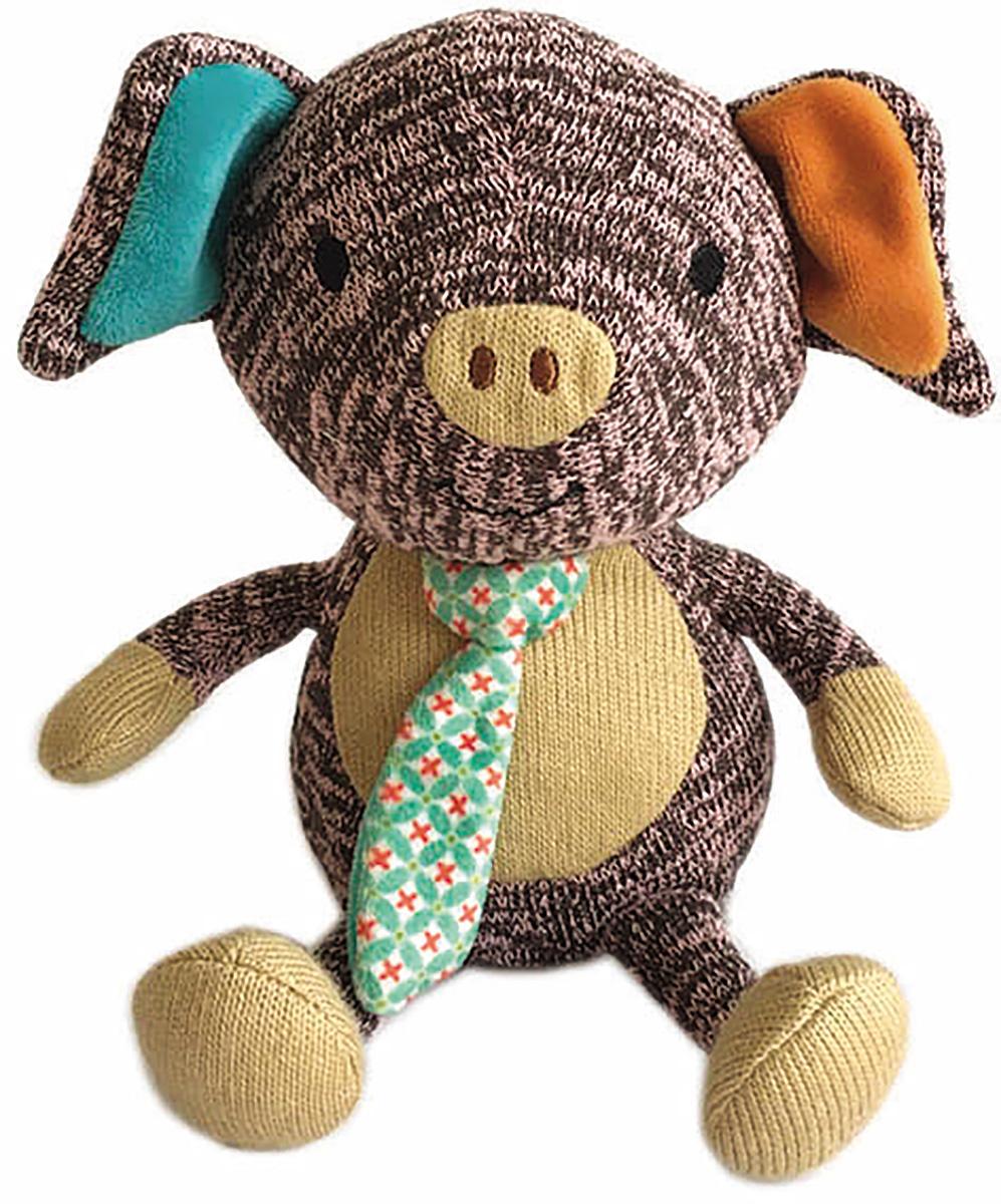 Gulliver Мягкая игрушка Поросенок Эдди 17 см51-K49193D