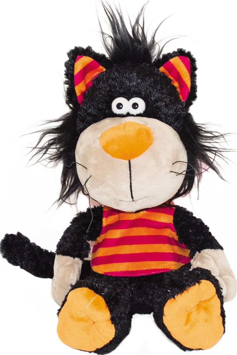 Gulliver Мягкая игрушка Кот Черныш 22 см51-K54295A
